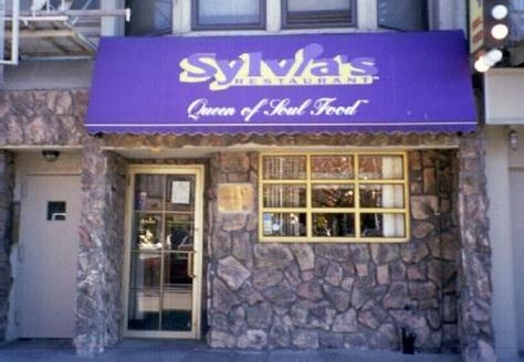 Sylvia's restaurant in Harlem New York...real southern soul food...and soooo good!!  :)