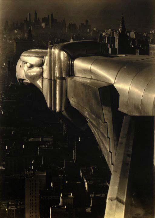 Margaret Bourke-White  Chrysler Building  New York City  1930  Silver gelatin photograph