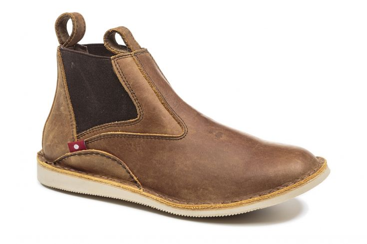 Women's Products Made In Africa - Oliberte | ZULIRA Rustic Brown Pullup
