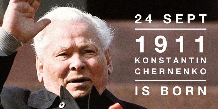 24 September 1911. Konstantin Chernenko is born
