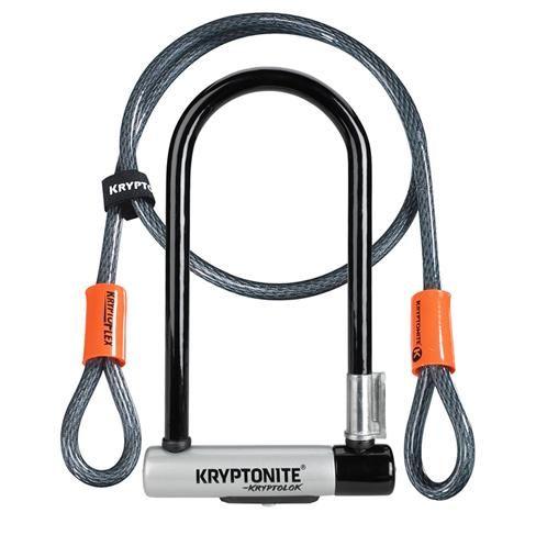 Kryptonite Bike Lock Kryptolok Mini 7 U Lock With 4 Flex Cable