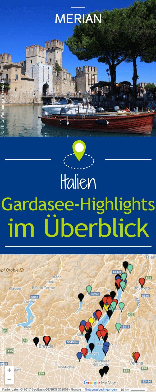 Gardasee-Highlights im Überblick