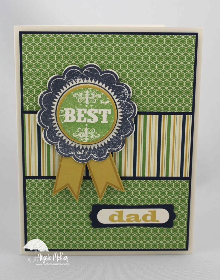 Card Making Ideas With Ribbon Part - 36: Best Dads... EVER! Journal IdeasBlue RibbonNorth ShoreCreative CardsMasculine  ...