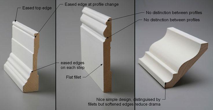 70 best trim casing redo images on pinterest crown for Clamshell door casing