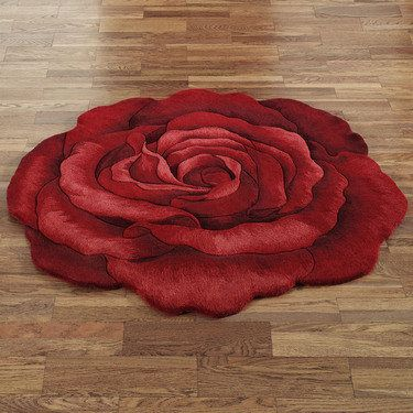 Raelyn Rose Flower Shaped Rug