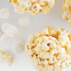 You know what you get when you combine melted marshmallows and microwave popcorn? Oooey-Gooey Popcorn Balls! They are just the right balance of sweet and salty.
