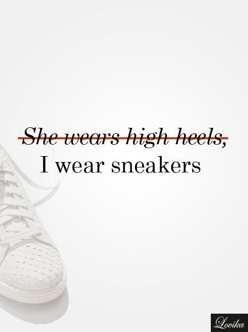Fashion Quote - Sneakers | Lovika
