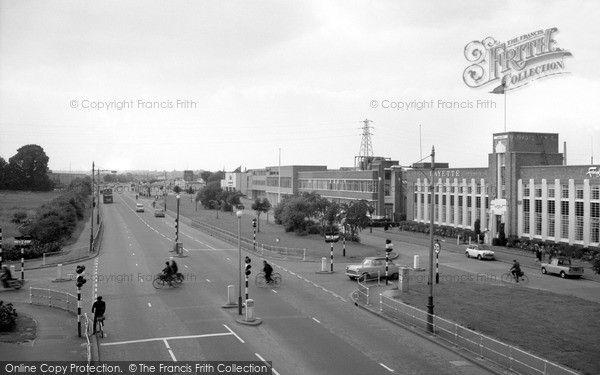Cippenham, Bath Road Trading Estate 1965
