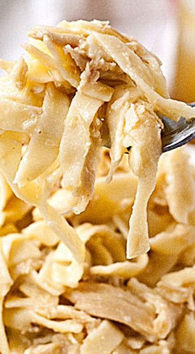 Amish Chicken and Noodles - This casserole is so easy to make and so incredibly satisfying.  ❊