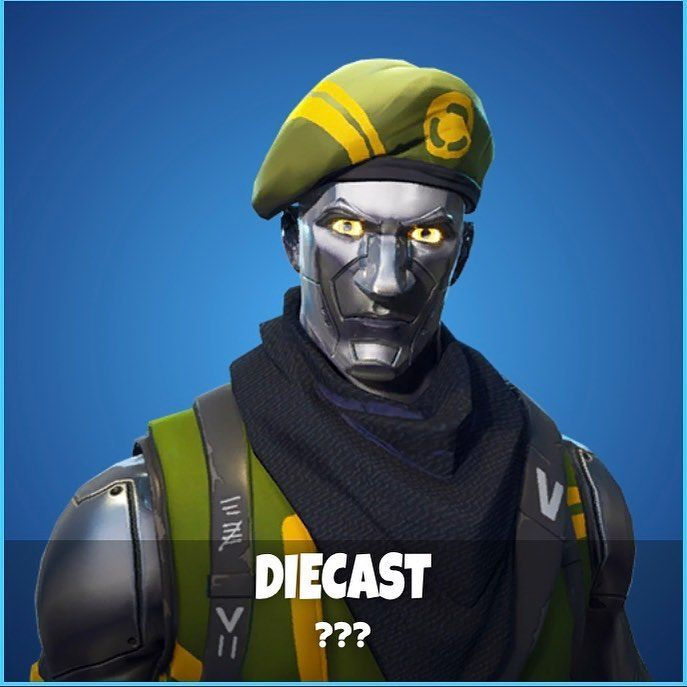 Fortnite Leaked Skin Diecast Like If You Want It Added To