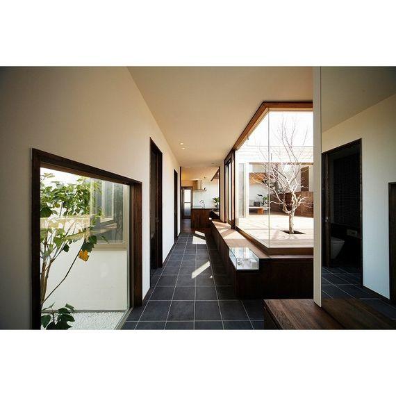 建築家コンペ住宅 施工実績 219.自然をとりこむ中庭life|家escort【イエスコート】