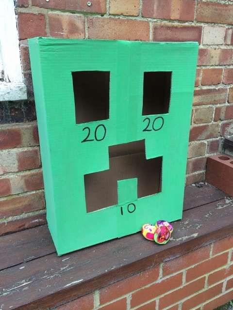 Minecraft! Birthday game ideas