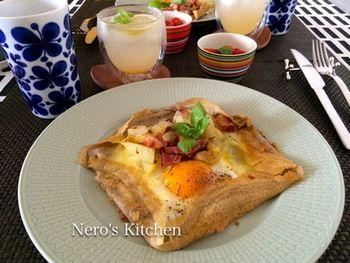 フランスの家庭料理を食卓に♪「そば粉のガレット」のレシピ | キナリノ