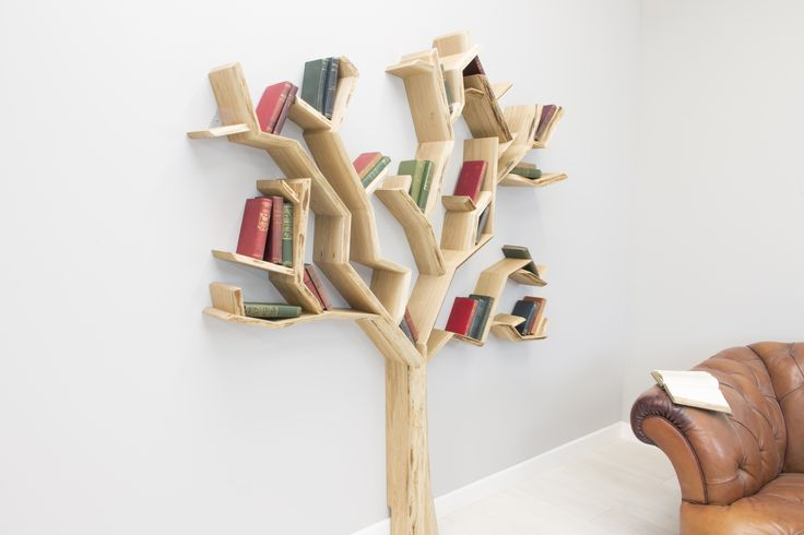 Our latest, most detailed tree shelf design to date. Inspired by the generations of character found in the old English oak trees. Available in the UK only, see more at: http://www.bespoakinteriors.co.uk/product/old-oak-tree-shelf/
