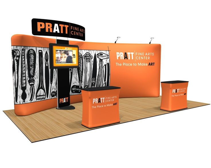 Fabric Exhibition Stand Examples : When trade show displays are customized they enable you