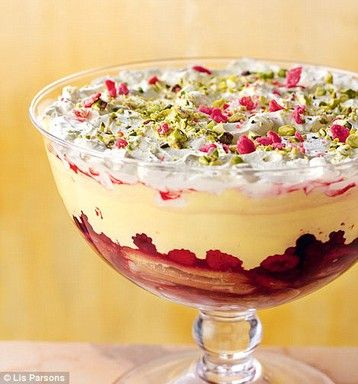 Nigella Lawson's Boozy British Christmas Trifle I have written so many recipes for trifle, I scarcely dare reiterate my love for it, but this is perhaps the most traditional of my offerings http://www.mydish.co.uk/recipe/8485/nigella-lawsons-boozy-british-christmas-trifle  #mydish.