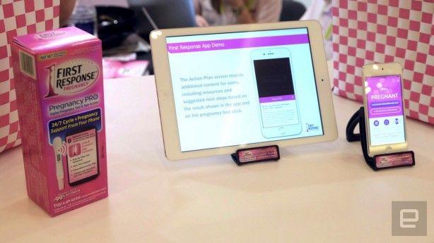 Pregnancy Pro il test di gravidanza con Bluetooth e iPhone  CES 2016