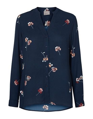 Women | New Arrivals  | Gabby Long Sleeve Floral Blouse | Hudson's Bay