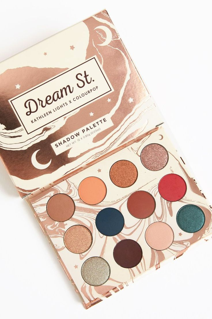 Want want want!!! ✨ Kathleen Lights x ColourPop - Dream St. Pressed Powder eye Shadow Palette