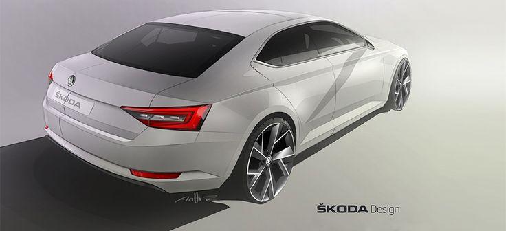 Design revolution: The New ŠKODA Superb - ŠKODA