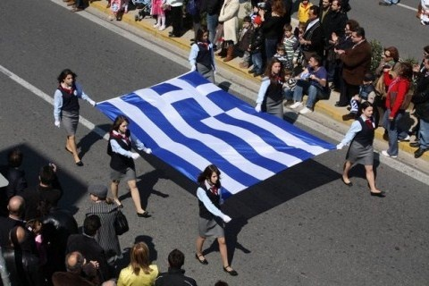25th of March commemorates Greek Independence from almost 500 years of ottoman turk rule