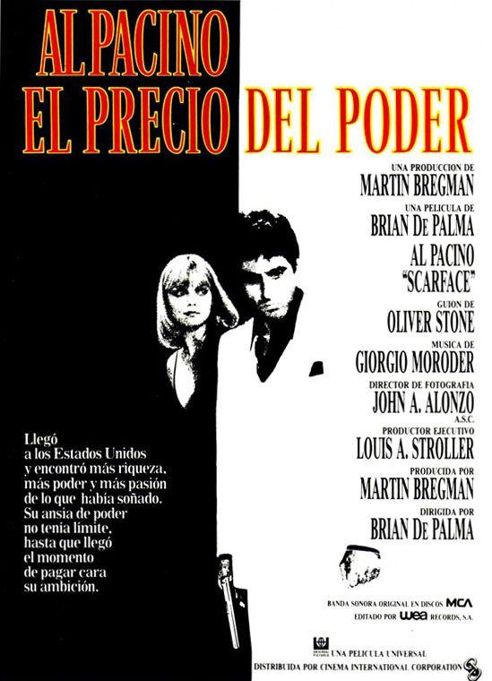'El precio del poder' / 'Scarface'