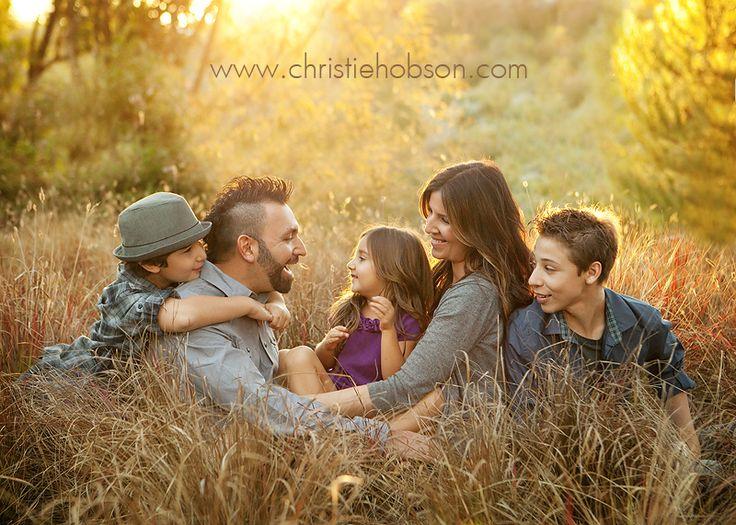Lovely family shoot with older kids