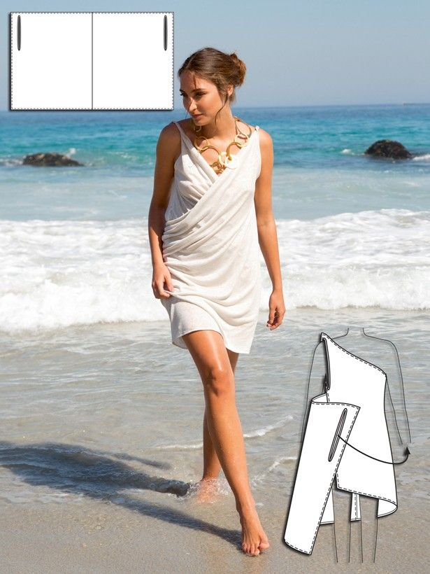 copricostume,abito da sera, tempo libero? tutto dipende dagli accessori e dal tessuto scelto ....