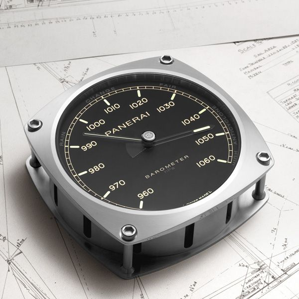 Inspired by the elegant lines of Eilean, the new Panerai navigation instruments evoke the world of classic yachts OFFICINE PANERAI BAROMETER, HYGROMETER, THERMOMETER AND WALL CLOCK (See more at En/Fr/Es: http://watchmobile7.com/articles/officine-panerai-barometer-hygrometer-thermometer-and-wall-clock) (2/5) #watches #montres #relojes #officinepanerai @Officine Fotografiche Roma Fotografiche Roma Fotografiche Roma Fotografiche Roma Panerai