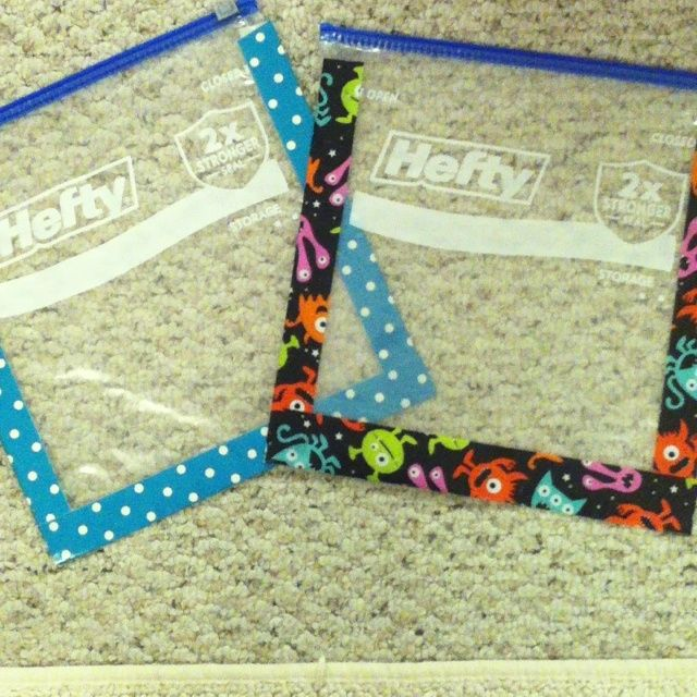 Grab duck tape on sale and prepare book bags for back-to-school that are going last the whole year through. Durable and darn cute, too!