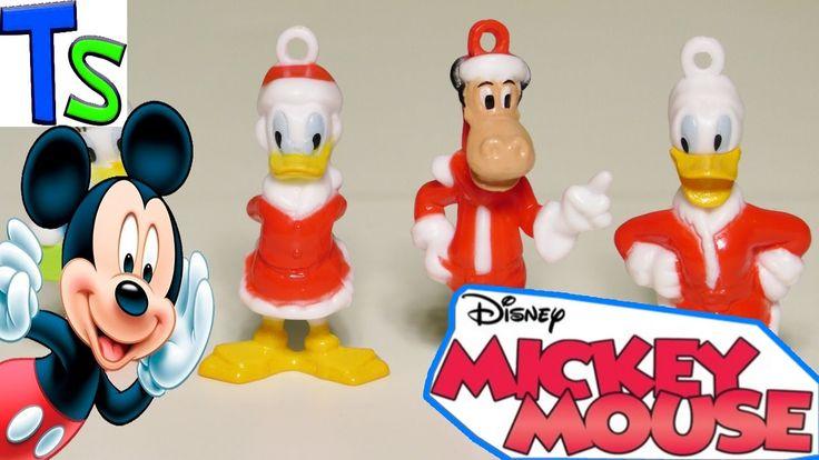 Микки Маус Киндер Сюрпризы обзор игрушек для детей Mickey Mouse