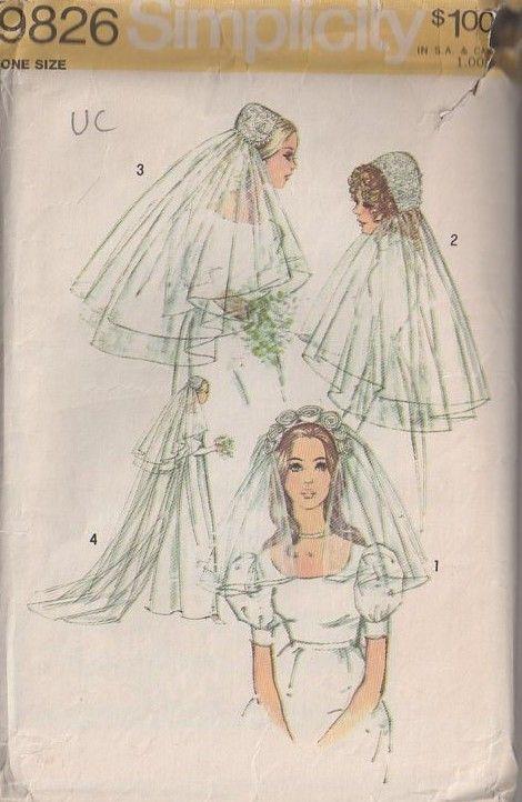 The 320 best Sewing Wedding Veils images on Pinterest | Wedding veil ...