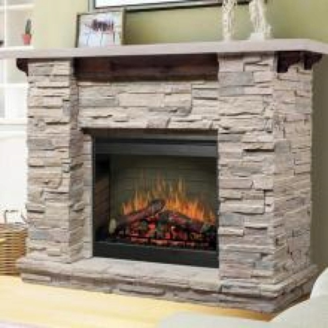 Fireplace idea w different stone fireplace mantel for Firerock fireplace prices