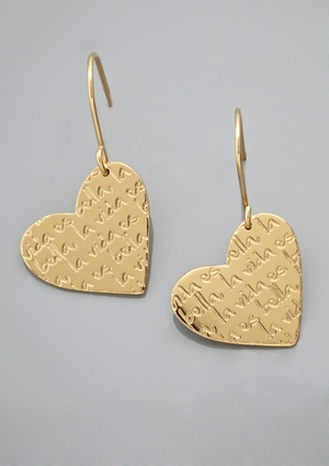 MERCEDES SALAZAR Corazon Earrings