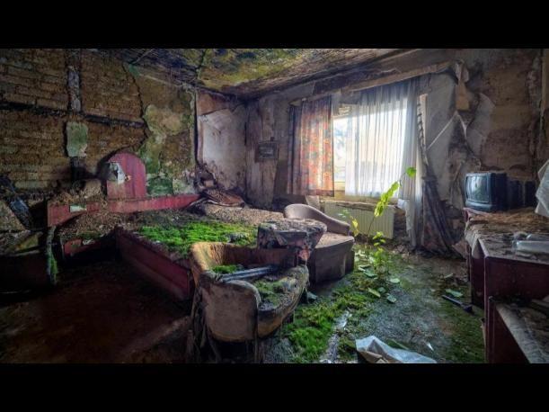 El Hotel El Salto del Tequendama south of Bogotá, Colombia. Bewitched and abandoned...