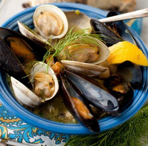 Mediterranean Fish Stew - Bouillabaisse at Cooking Melangery