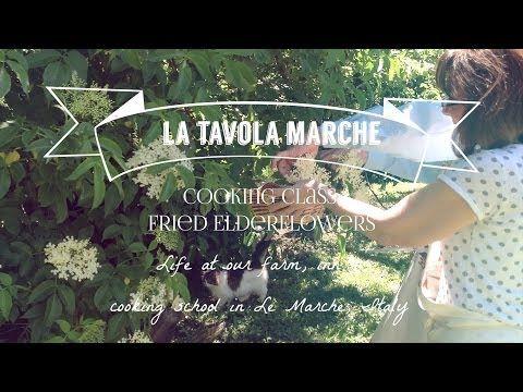 Taste of Italy: Fried Elderflowers in Beer Batter, Cooking Class at La Tavola Marche (Episode 5) via @Ashley Bartner