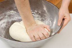 salt dough recipe  great for Christmas ornaments or fun for the kids to play!