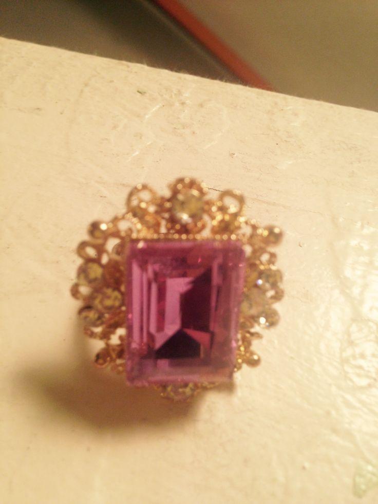 Lavender ring from the Pink Closet. Lake Havasu City, AZ $1.00