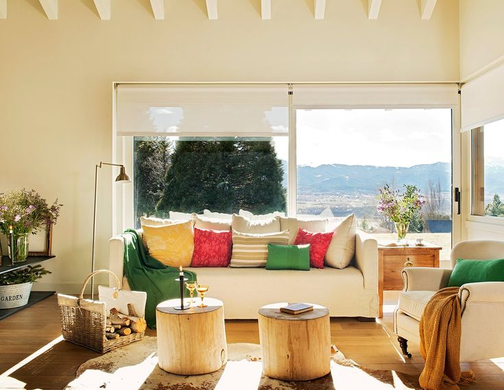 Una casa de montaña diferente ¿cómo decorarla?