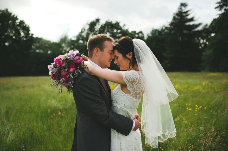 Bride & Groom portrait at Iscoyd Park #WeddingVenue #WeddingPhotography #Portrait