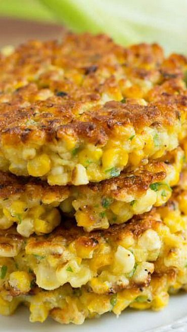 Grilled Corn Fritters