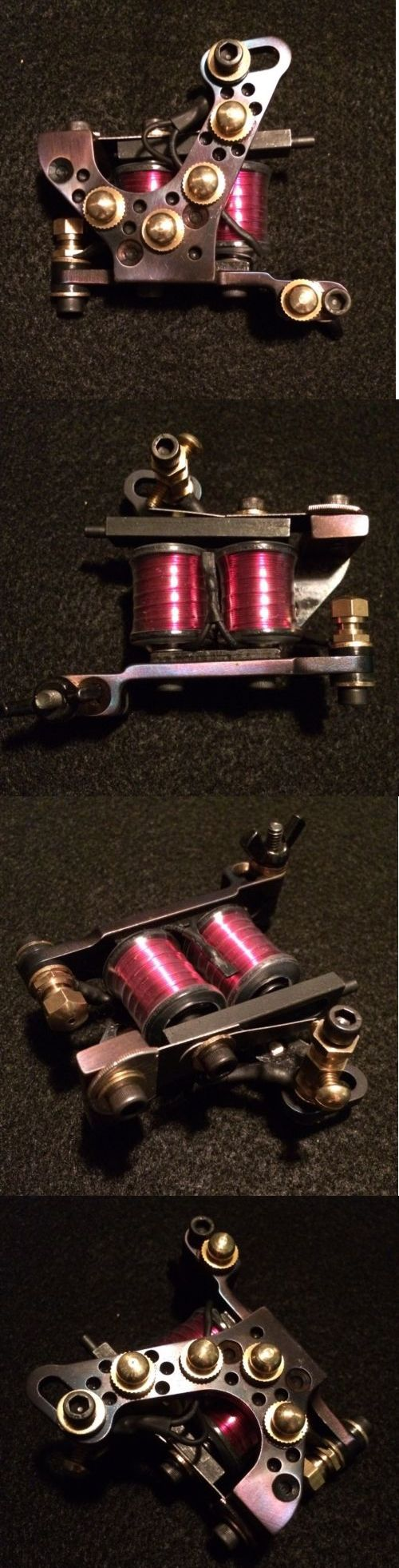 Tattoo Machines and Parts: Tattoo Machine Custom Liner Heat Treated Steel Usa 8-32 Pink Hand Wound Coils -> BUY IT NOW ONLY: $99.99 on eBay!