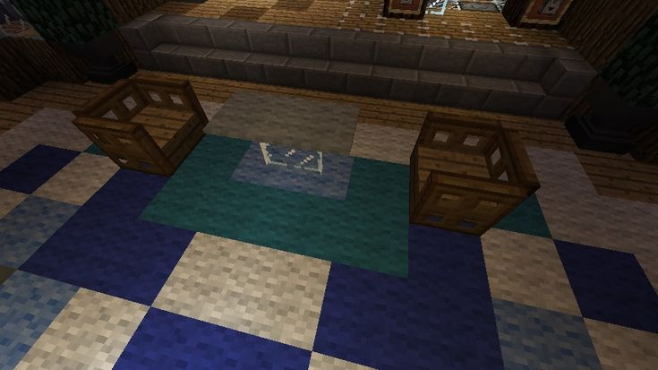 minecraft furniture - other tables - thin glass table | minecraft