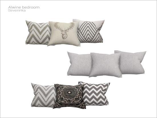 Severinka s alwine bedroom bed pillows