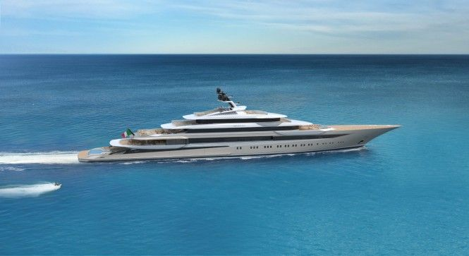 WATCH: 123m Superyacht Concept Private Bay