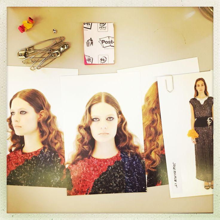 Beautiful Hair and Make up - Sonia Rykiel SS16 - Pfw