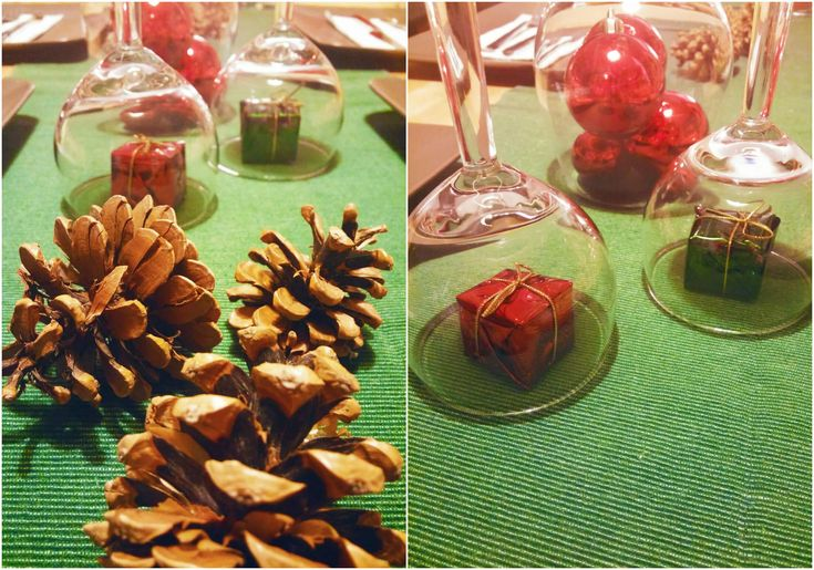 We love Christmas: Let's decorate our table! - Violetmimosa