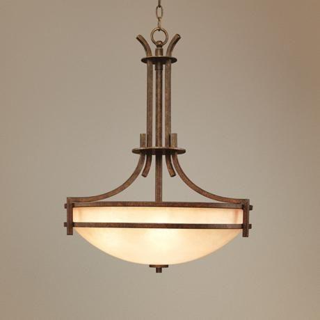 Oak Valley Five Light Pendant Chandelier