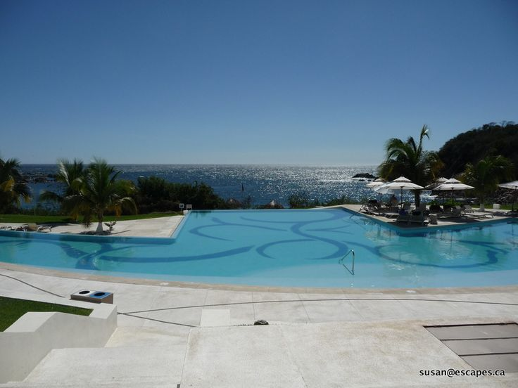 Secrets Huatulco, with fabulous views to the bay